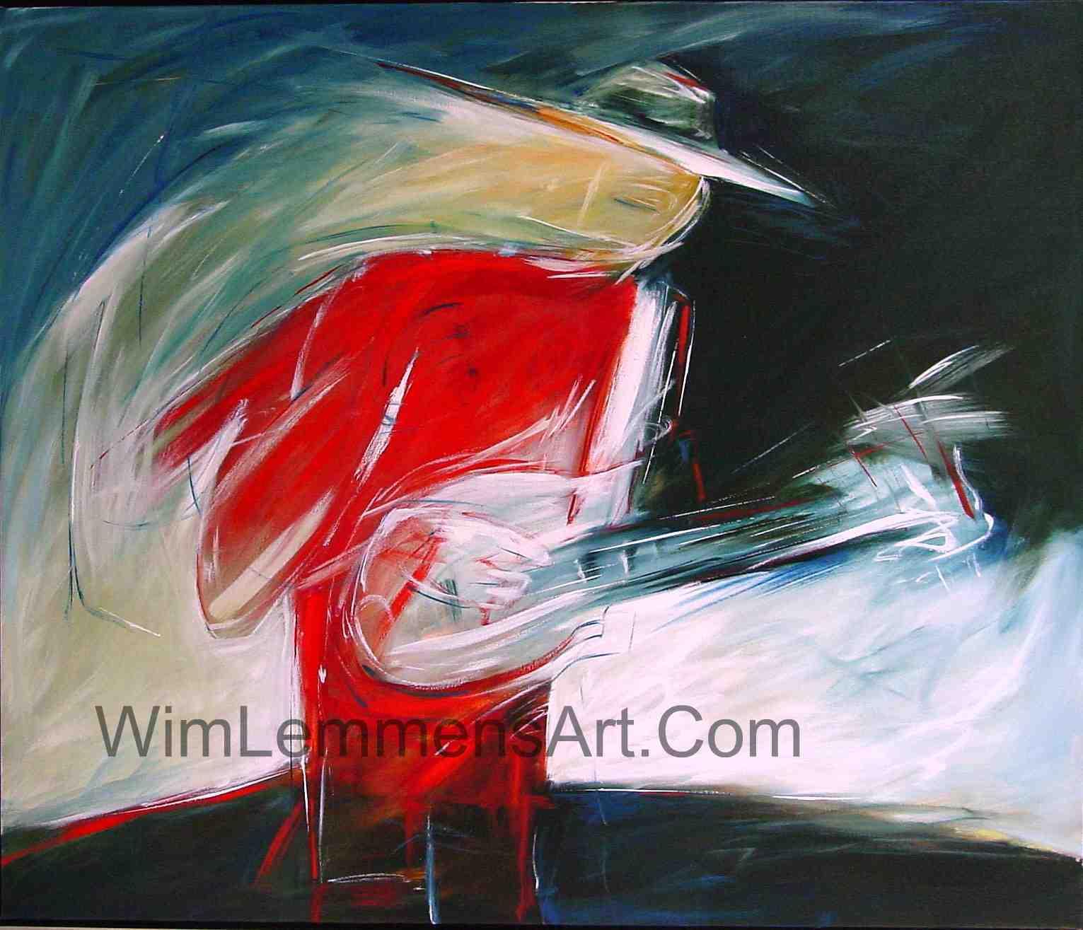 Modern Abstract Music Art