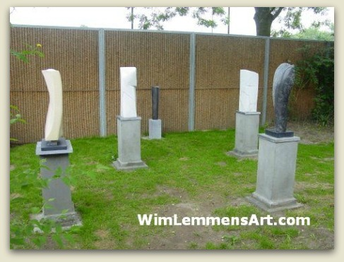 sculptures in my garden 2