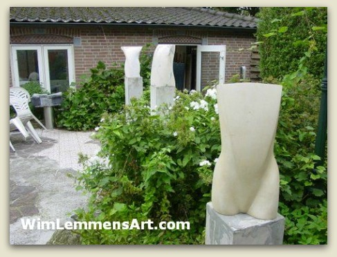 sculptures in my garden 3